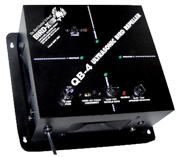 QuadBlaster-4 Ultrasonic Bird Repeller