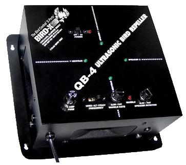 QuadBlaster-4 Ultrasonic Bird Repeller